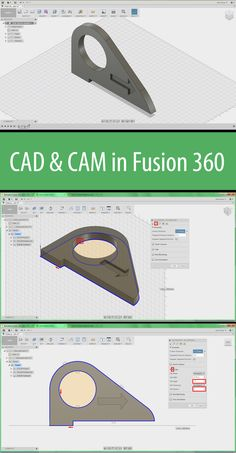 In this class, you will learn the fundamentals of CAD (Computer Aided Design) and CAM (Computer Aided Manufacturing) in Fusion 360.