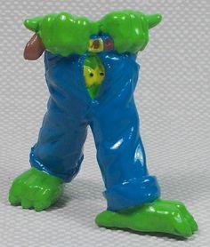 Thingz that go bump in the night - Mini Figure - The Trouser Thing - Bump, Dinosaur Stuffed Animal, Night, Toys, Mini, Animals, Ebay, Activity Toys, Animales