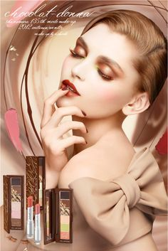 Shu Uemura Chocolat Donna Fall – Winter 2012 Collection – Info & Photos – Beauty Trends and Latest Makeup Collections Pale Dogwood, Look Fashion, Fashion Beauty, Shades Of Beige, Beige Color, Glamour, Up Girl, Girly Girl, Glam Girl