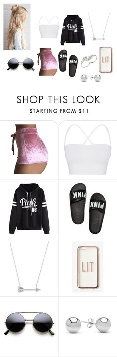 """""""Untitled #244"""" by bands2018 ❤ liked on Polyvore featuring Theory, WithChic, Victoria's Secret, Estella Bartlett, Missguided, Jewelonfire and Apples & Figs"""