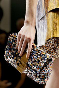 f3f6d15bd43a Fendi Baguette bag Spring 2013 pearls Fendi Clutch, Fendi Bags, Purses And  Handbags,