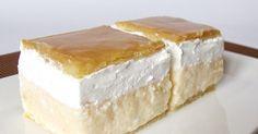 Recipe of the week: cream cake / krémes Hungarian Desserts, Hungarian Cake, Hungarian Recipes, Hungarian Food, Desserts To Make, Food To Make, Napoleon Cake, Custard Desserts, Czech Recipes