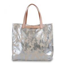 Barcelona 1 (ecru/silver) Jack Spade, Shopper Tote, Barcelona, Reusable Tote Bags, Handbags, Silver, Women, Notebook Bag, Branding