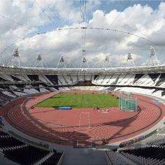 Olympics stadium by day.  Getting that nervous feeling... http://hitthetheatre.com/