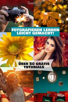 Fotografieren lernen - Kreative Fotografie Tipps und Foto Hacks Learning to take pictures made easy! These brilliant photo tips and hacks will help you understand photography.