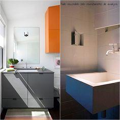 12 Belos detalhes em pequenos banheiros e lavabos