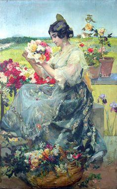 Risultati immagini per sorolla Spanish Painters, Spanish Artists, Art Poses, Historical Art, Victorian Art, Art For Art Sake, Mandala Coloring, Oeuvre D'art, Female Art