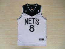 maillot basket nba Brooklyn Nets Williams Blanc et Noir nouveaux tissu