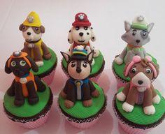 Paw Patrol Cupcake Toppers, Paw Patrol Cupcakes, Cup Cakes, Grande, Desserts, Instagram, Cake Pops, Pup, Fiestas