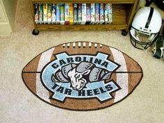UNC University of North Carolina - Chapel Hill Football Rug