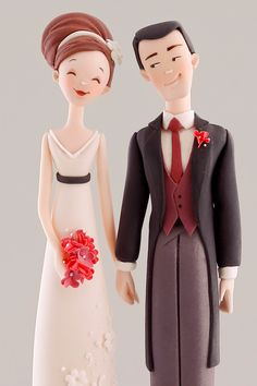 "Lovely ""Bride & Groom"" Cake Topper!"