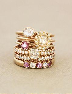 the most beautiful engagment & wedding rings // Korusuunnittelija Annette Tillander :: Best Day Ever