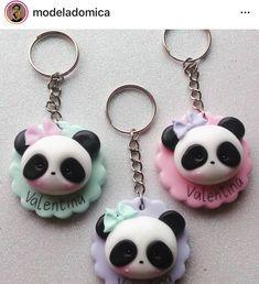 Panda Panda Themed Party, Panda Party, Panda Bebe, Cute Panda, Polymer Clay Kawaii, Polymer Clay Art, Panda Baby Showers, Panda Birthday, Friend Birthday Gifts