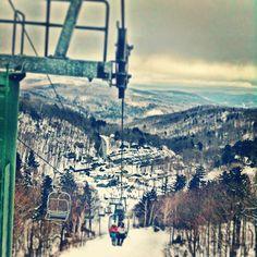 Chairway to heaven... #madriverglen #skiitifyoucan #paradise