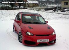 Opel Corsa Vermelho tunado