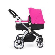 32-BLACK-PINK-CARRERA-SPORT-3-in-1-Baby-Travel-System-Pushchair-Pram-Stroller-1.jpg (510×510)