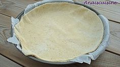 Pâte brisée sans beurre, aux petits suisses