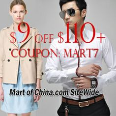 $9 Off For Order $110+ at Martofchina.com with Coupon: mart17 Class Newsletter, Discount Womens Clothing, Coupons, Brides, Women's Fashion, Clothes For Women, Book, Amazing, Inspiration