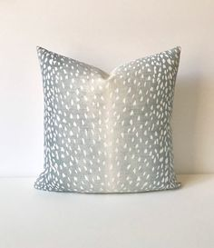 Your place to buy and sell all things handmade Light Blue Throw Pillows, Blue Pillows, Couch Pillows, Antelope Rug, Vern Yip, Diy Home Decor On A Budget, Home Decor Fabric, Decorative Pillow Covers, Aqua Blue