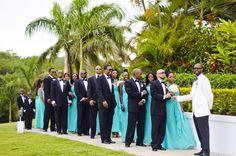 A Sophisticated Island Wedding in Montego Bay - Munaluchi Bridal Magazine