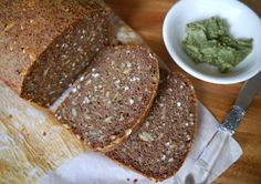 A healthy, and very easy recipe for a vegan buckwheat bread made gluten free using chia seeds, buckwheat flour and almond meal.