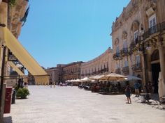 Ortigia in Siracusa, Sicilia