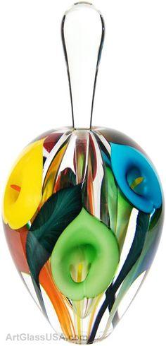 Art Glass perfume bottles by Scott Bayless