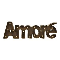 <div>Say it with love, Italian style! Accent your home décor or special event with a vintage sty...