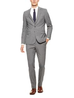 Pindot Stripe Suit by Elie Tahari Suiting at Gilt
