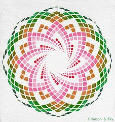 Sacred Geometry / Torus / Lotus of Heart | by Sarjana Sky