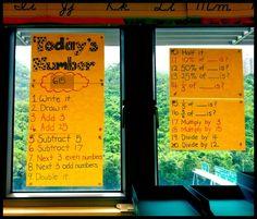daily math activity