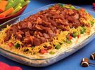 """Bacon Cheddar Dip Show off your """"pro"""" snacking skills with this savory bacon and cheddar creation"""