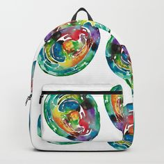 Easter Egg Backpack by ANoelleJay | Society6