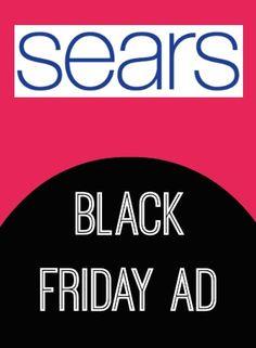 Sears Black Friday Ad 2013