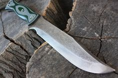 Handcrafted blade FOF Aces&Eights full tang by FallenOakForge
