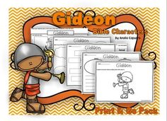 Gideon - Print & Go Packet. 3.00