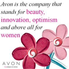 Avon is the company that stands for beauty, innovation, optimism and above all for women #IWD #WomensDay