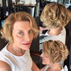 Combine short hair with ombre locks & you have a truly sensational look! We show you how to really rock short ombre hair & turn heads everywhere you go. Cut My Hair, Love Hair, Gorgeous Hair, Beautiful, Stylish Short Haircuts, Short Haircut Styles, Hairstyles Over 50, Hairstyles Haircuts, Hairdos