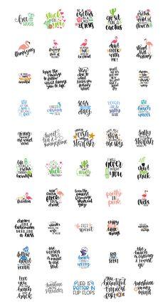 Variationen Buchstabe A - Handlettering Hand Lettering Quotes, Svg Files For Cricut, Cricut Fonts, Cricut Vinyl, Silhouette Cameo Projects, Cricut Creations, Vinyl Projects, Vinyl Crafts, Grafik Design