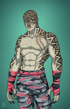 Diamondback OC commission by phil-cho on DeviantArt Comic Villains, Superhero Characters, Dc Comics Characters, Marvel Art, Marvel Comics, Comic Books Art, Comic Art, Arte Dc Comics, Superhero Design