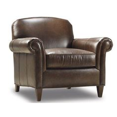 Bradington-Young George Arm Chair Finish: Casablanca, Upholstery: 907000-88