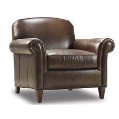 Bradington-Young George Arm Chair Finish: Casablanca, Upholstery: 913100-95