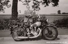 Old Pictures From the 1950s | Old British Motorcycles seen in the 1950s