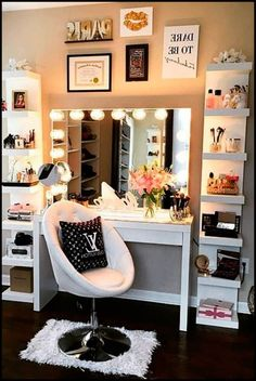 Furniture:Makeup Artist Vanity Table Makeup Artist Vanity Table Modern Design Ideas