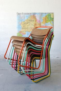 chaises avior drawerfr - Chaise Eleven Patchwork Colors