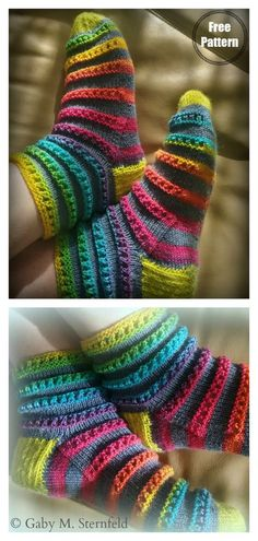 Caterpillar Socks Free Knitting Pattern - - Need a pair of feminine pretty socks? This Caterpillar Socks Free Knitting Pattern creates dainty socks for yourself or your loved ones. Baby Knitting Patterns, Baby Patterns, Crochet Patterns, Sock Loom Patterns, Easy Knitting, Knitting For Beginners, Knitting Socks, Knitted Baby Socks, Knitted Socks Free Pattern