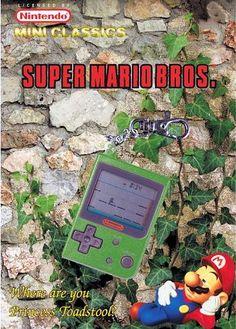 Super Mario Bros Games, Handheld Video Games, Video Game Posters, Vintage Video Games, Super Mario World, Game & Watch, Tabletop Games, Nintendo Games, Vintage Toys