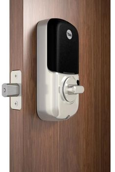 Unlock by entering your pin code on the backlit, touchscreen keypad and tap to lock the door behind you. #lowes #cybermonday