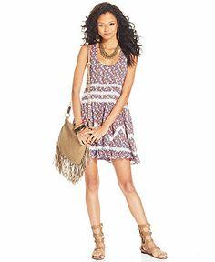 American rag dress sleeveless lace