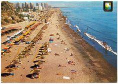 Image detail for -View La Roca beach in Torremolinos Spain (postcard) full size ...